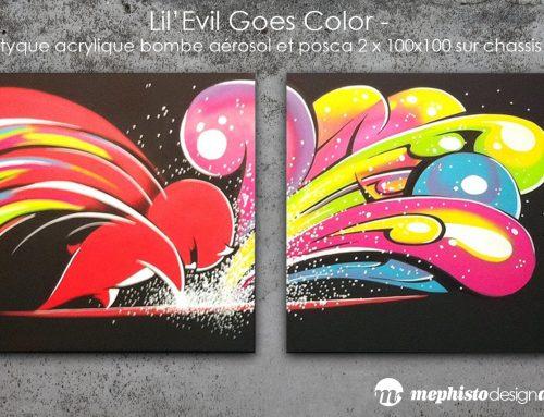 "Promo sur mes toiles ""Graffiti"""