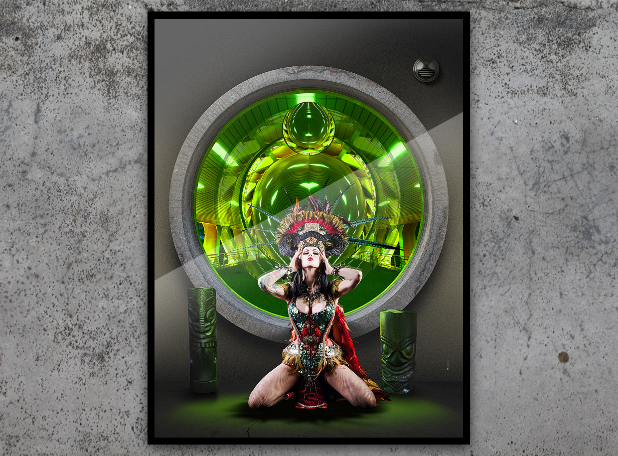 window-on-chaos-green-computer-art-print-by-mephistodesign