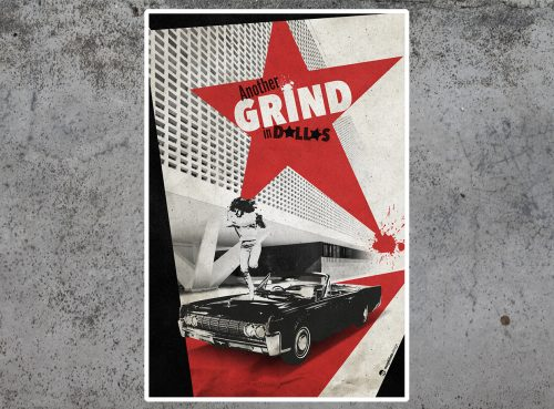 Dallas Grind tirage d'art par Mephisto Design
