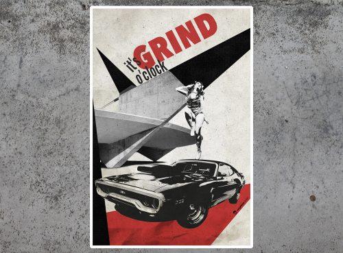 Grind O'Clock Mephisto Design Art