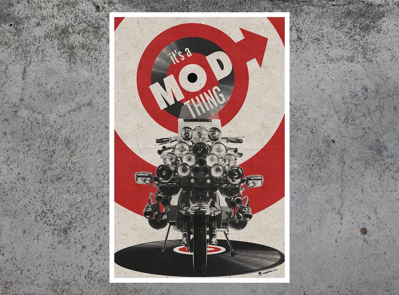 It's a Light Mod Thing tirage d'art par Mephisto Design