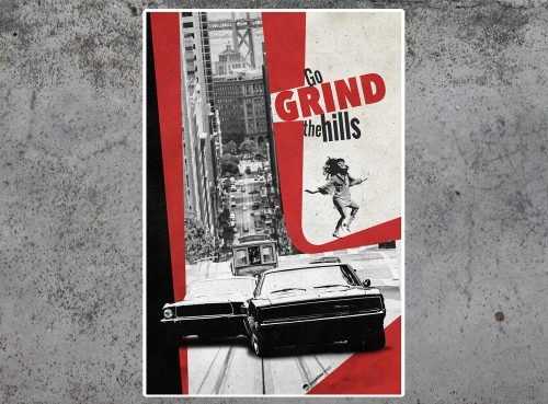 Grind The Hills tirage d'art par Mephisto Design