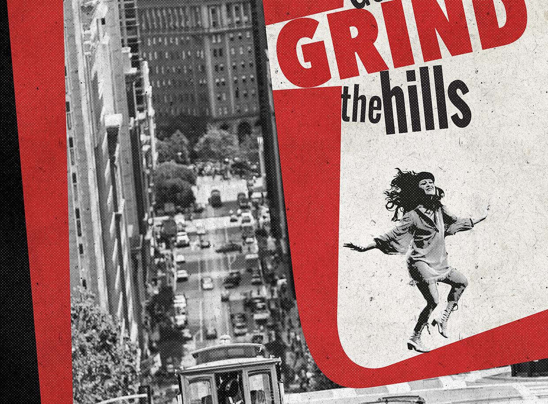 Grind The Hills tirage d'art par Mephisto Design