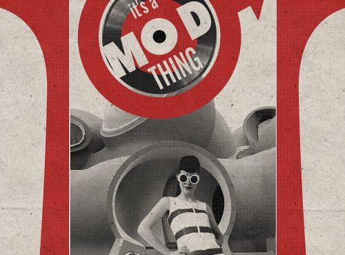 It's a Mod Paradise Thing tirage d'art par Mephisto Design